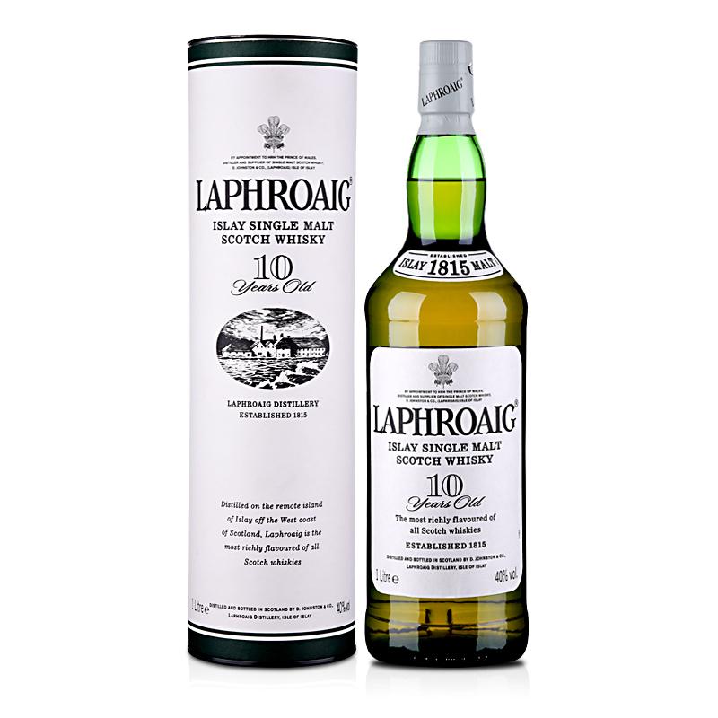 40°拉弗格(利富)10年单一麦芽苏格兰威士忌1000ml