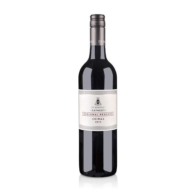 澳大利亚红酒德保利区域珍藏西拉干红葡萄酒750ml