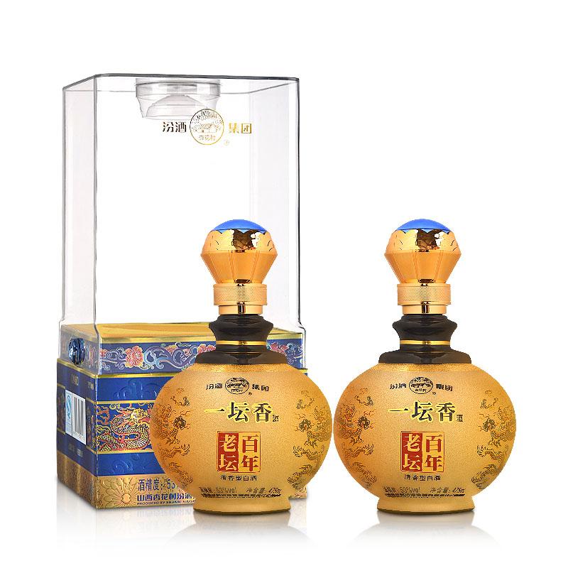 53°汾酒集团百年老坛一坛香475ml(双瓶装)
