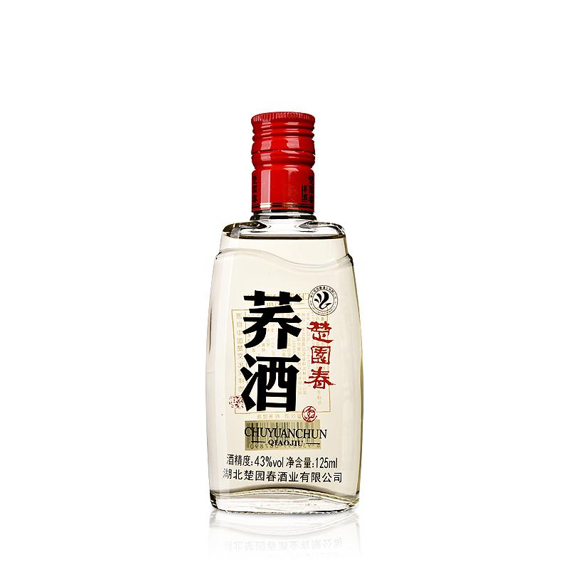 43°楚园春荞酒125ml(乐享)
