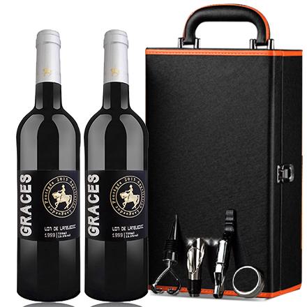 格拉芙1999干红葡萄酒750ml(两支礼盒装)