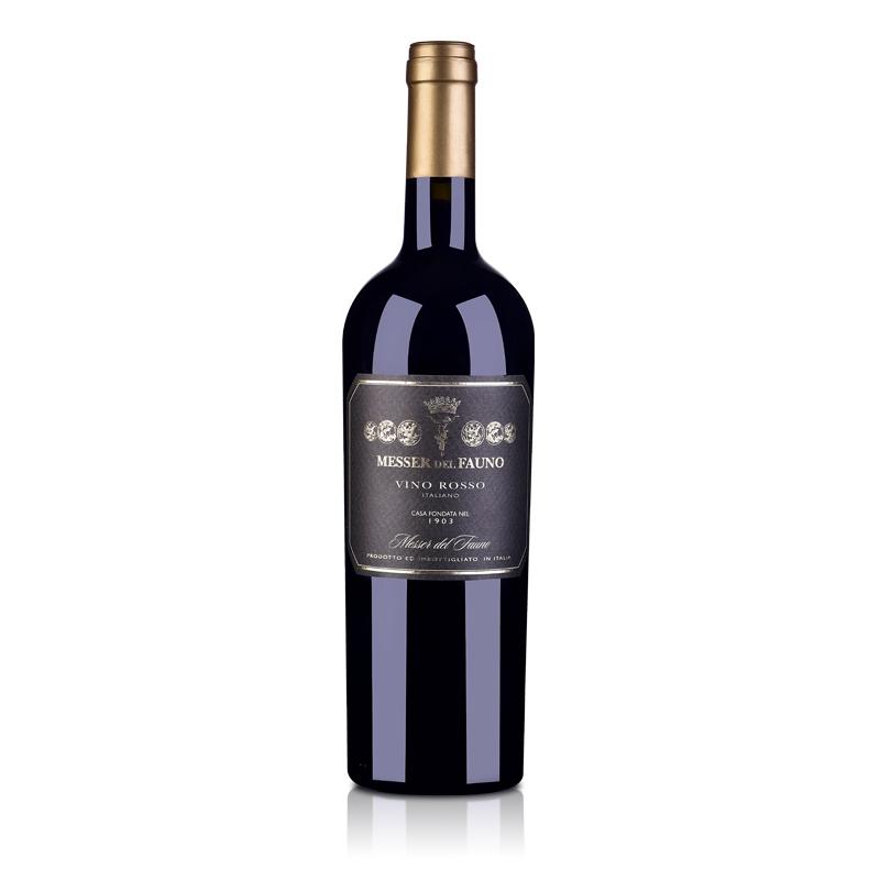 意大利美塞隆黑标干红葡萄酒750ml