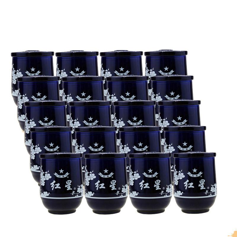 【618共享盛典】46°红星二锅头口杯150ml(20瓶装)