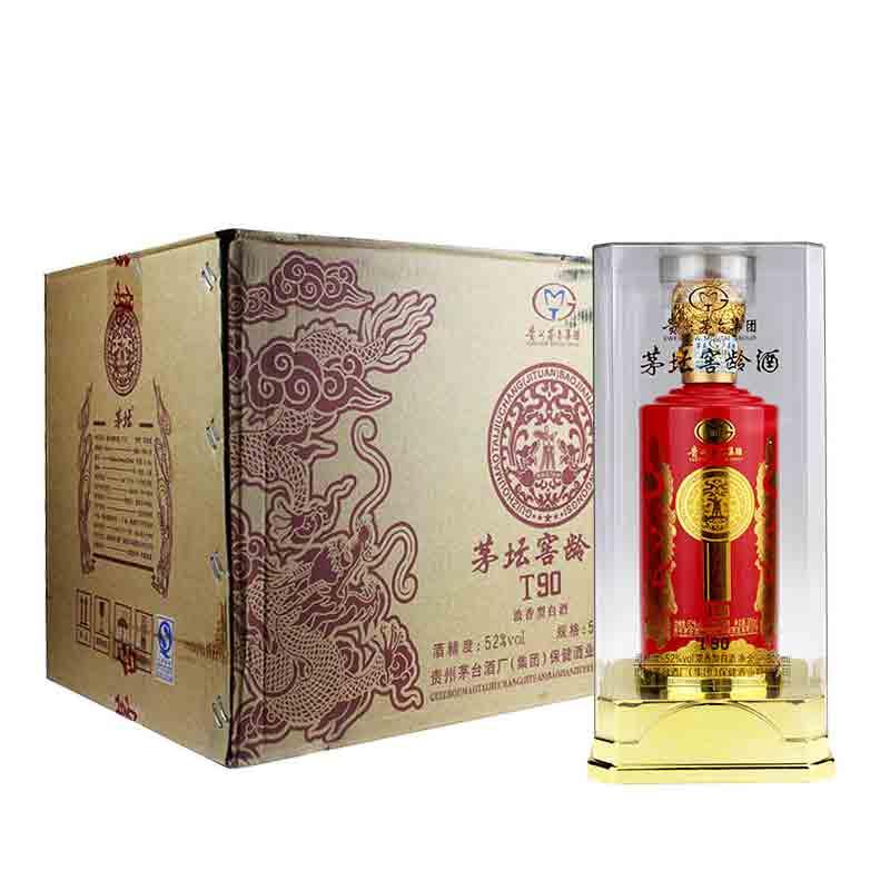 52°贵州茅台集团茅坛窖龄T90 500ml(6瓶装)