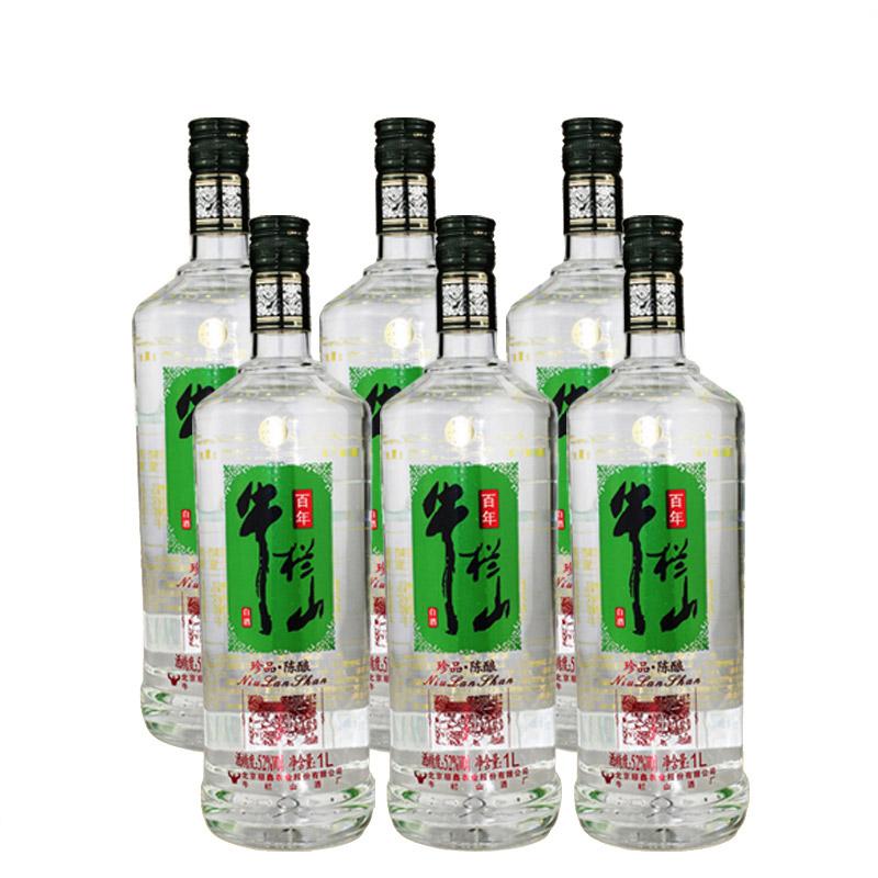 52°牛栏山二锅头珍品陈酿1L(6瓶装)