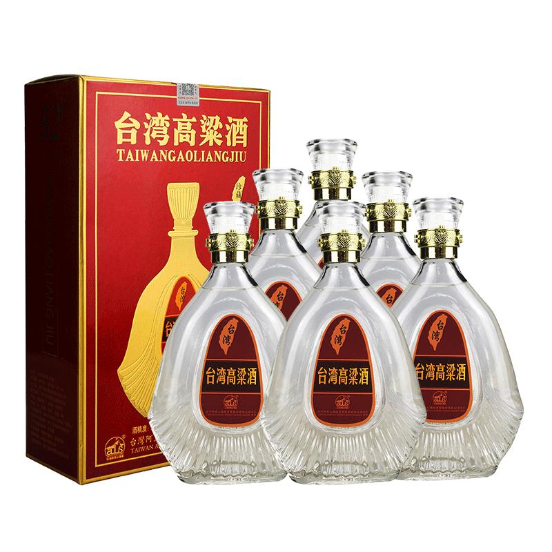 【618共享盛典】52°台湾阿里山高粱酒珍藏600ml(6瓶装)