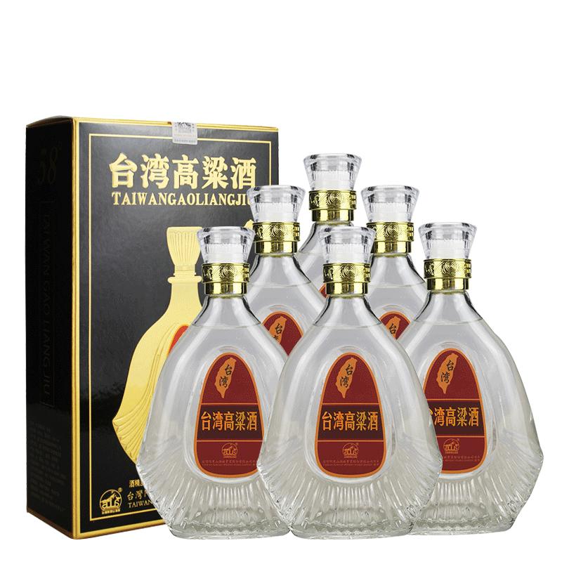 【618共享盛典】58°台湾阿里山高粱酒窖藏600ml(6瓶装)