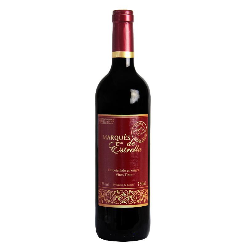 西班牙 艾斯特侯爵干红葡萄酒750ml