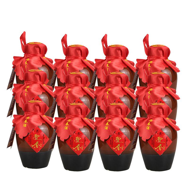 43°酱香迎春酒一坛香250ml(12瓶装)