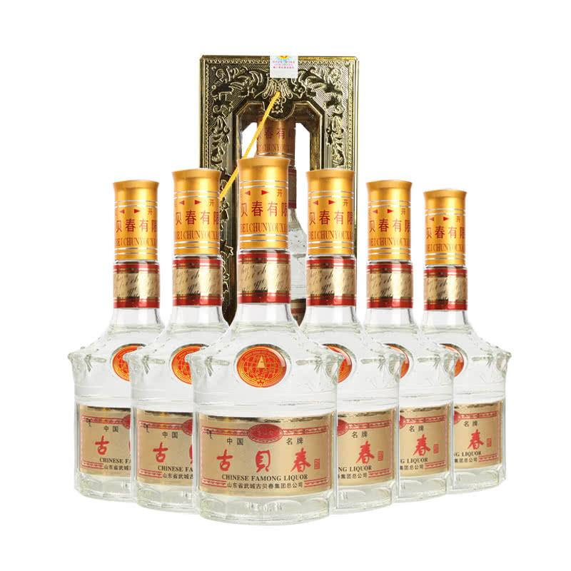 【老酒特卖】52°古贝春500ml(6瓶装)(1999年)
