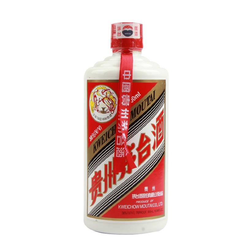 【老酒特卖】38° 茅台飞天 500ml(2001-2005年)