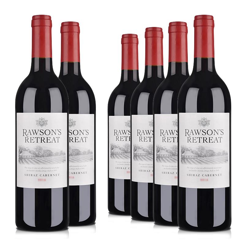 澳大利亚奔富洛神山庄赤霞珠干红葡萄酒750ml(6瓶装)