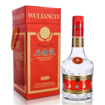 【老酒特卖】52°五粮液(红方盒)500ml(1998-1999年随机发货)
