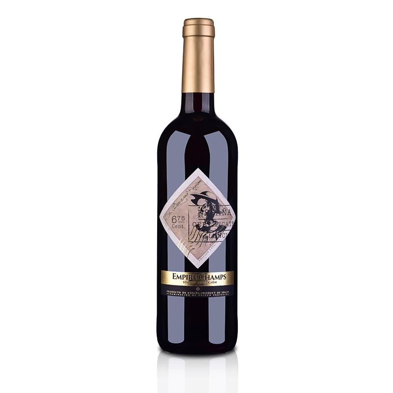 西班牙帝国香榭唐吉坷德金标干红葡萄酒750ml