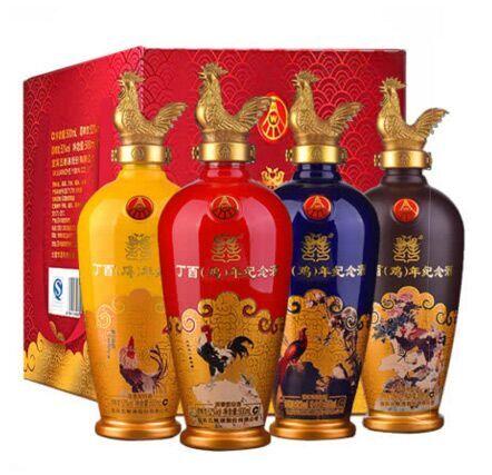 52°五粮液鸡年纪念酒500ml(4瓶装)