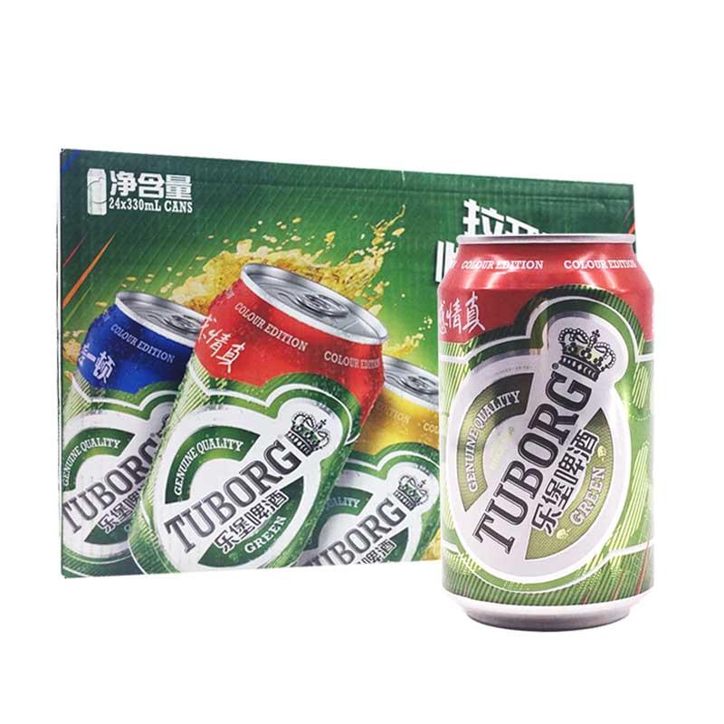 嘉士伯乐堡啤酒330ml(24瓶装)
