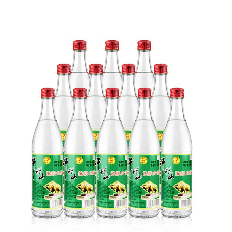 42°牛栏山二锅头陈酿500ml*12瓶