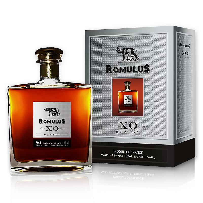 40°法国干邑 Romulus 罗慕路斯经典XO白兰地700ml
