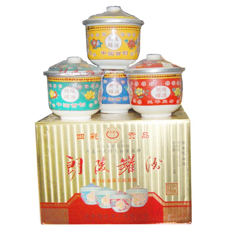朗陵罐酒四彩贡品50º600ml(4罐装)
