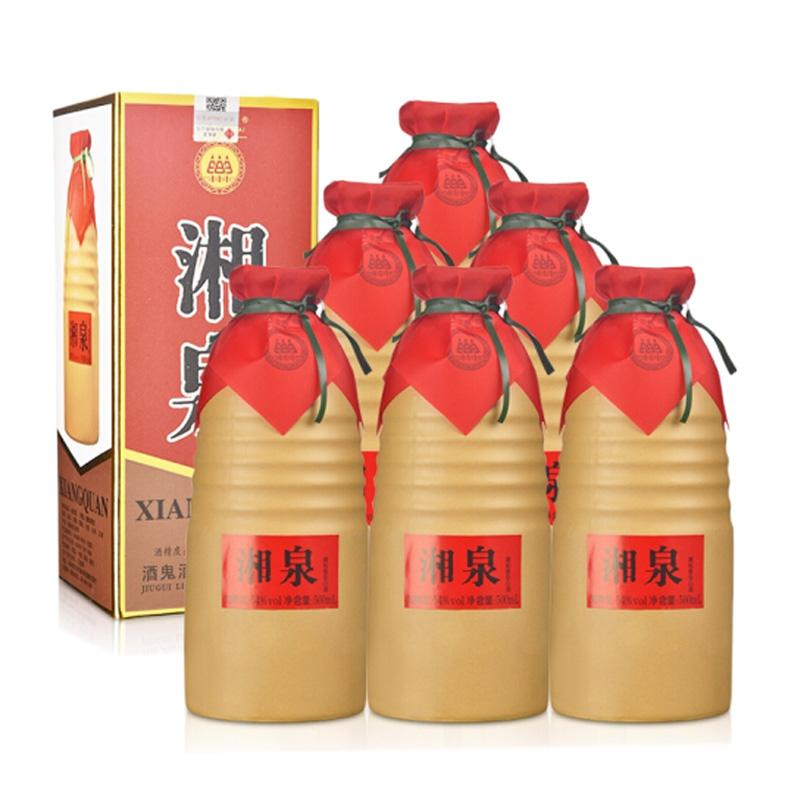 54°酒鬼湘泉馥郁香型白酒500ml(6瓶装)