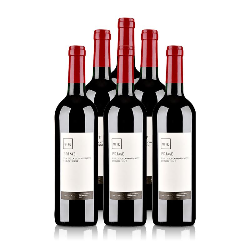 法国SITE普瑞姆红葡萄酒750ml(6瓶装)